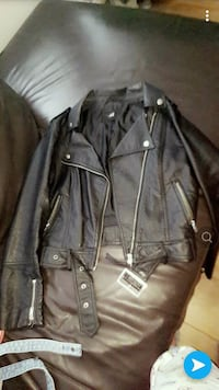 Hm leather jacket size 8 Liverpool, L15 4AB