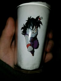 Dragon ball Z glass