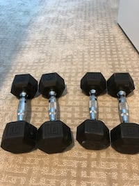 Set of dumbbells: 10lbs and 8 lbs Bethesda, 20814