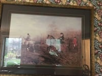 brown wooden framed painting of house Signal Mountain, 37377