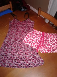Valentine's day nightgown and shorts