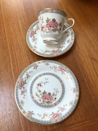 Royal Doulton 'Canton' cup/saucer/plate North Vancouver