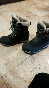 North Face womens winter boots  Brampton