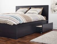 IKEA Queen Bed and Mattress (with built-in drawers) Vancouver, V6B 0N3