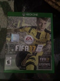 Xbox One Fifa 17 game case Oshawa, L1G 5T5