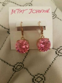 Betsy Johnson earrings... Winnipeg, R3C