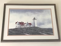 Lighthouse framed print Mc Lean, 22102