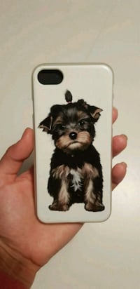IPhone 7/8 case with yorkie (unique) Oslo