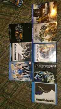 Collection of Blu-Ray movies