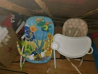 Booster seat and bouncer  Fort Washington, 20744