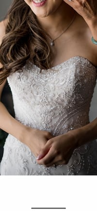 Maggie Sottero white ivory sweetheart beaded wedding gown dress Sunnyvale, 94089