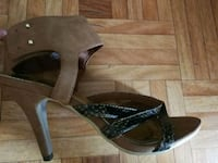 Tacones marrones H&M Madrid, 28033