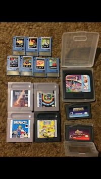 Mix games for gameboy, gameboy advance (gba), Sega game gear, battle chips