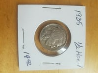 1935 buffalo nickel South Charleston, 45368