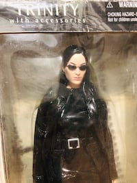 2000 Matrix Movie Trinity Action Figure by N2 Toys Figure