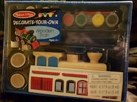 NEW Decorate Your Own  Wooden Train Calgary, T2A 1L3