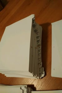 Collection of Binder Tabs