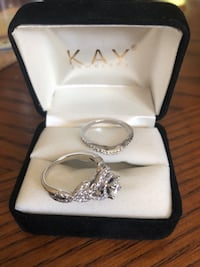 Platinum diamond kay jewelers ring in box Vienna, 22180