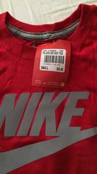 red and white Nike jersey shirt Oakville, L6L 5K3