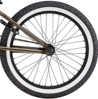 Bmx rear wheel cassette GT with GT pool tires  Toronto, M1B 1M1