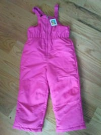 Girls 5t pink snow pants Barkhamsted, 06063