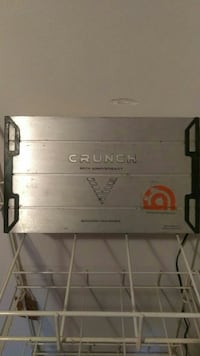 stainless steel Crunch amplifier
