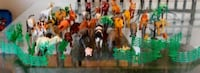 Farm, savanna and jungle animal toy collection Pointe-Claire, H9R 1K1