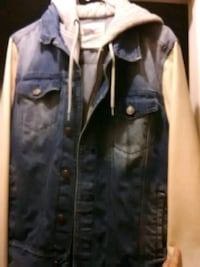 black and gray button-up jacket Glendale, 85301