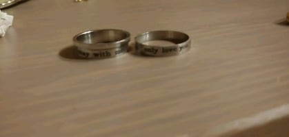 Stainless steel 2 ring in 1