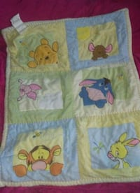 Whinnie the pooh blanket