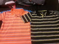 4 boys collared shirts size 14-16