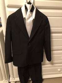 Boys Lord & Taylor charcoal suit with white dress shirt Jackson, 08527