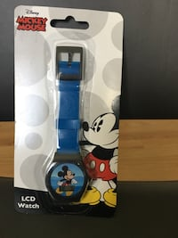 New Disney Mickey Mouse LCD Kids Watch Los Angeles, 90064