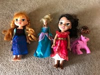Lots of Disney dolls Anna, Elena & Barbie all for $5 Great Falls, 59405