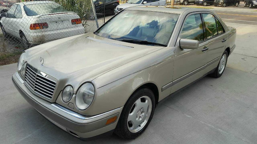 Used mercedes benz e class 420 1997 in tampa for Used mercedes benz tampa