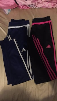 Blue & white size: Small, Pink & black size: Small $50 for both pairs of pants  Windsor, N8W 3X9