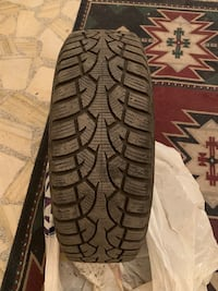 3winter tires 195/65/R15 with rims + 1winter tires 185/65/R15 with rims Laval, H7V 1J8