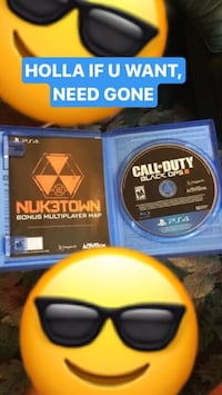 Sony ps4 call of duty black ops 3