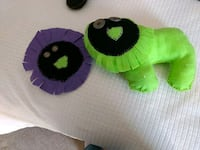green and black animal plush toy Montpelier, 05602