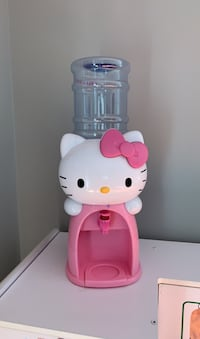 Child's Water bottle, Hello kitty water dispenser.