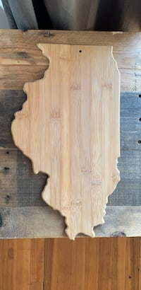 Illinois cutting board Cambridge