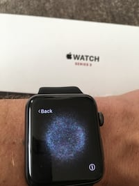 black Apple Watch with black sports band Coventry, 02816