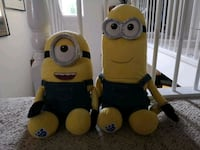 2 build a Bear minions. Edmonton, T6C 1J7