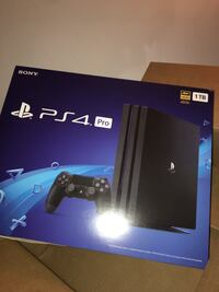 PS4 pro 1TB NEVER OPENED BRAND NEW