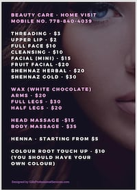 Beauty services Surrey