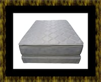 Pillowtop mattress with box spring Mount Rainier, 20712