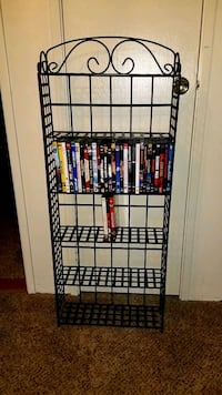 $25.00, Why Pay more ? METAL DVD RACK AND 32 DVDs Las Vegas, 89102