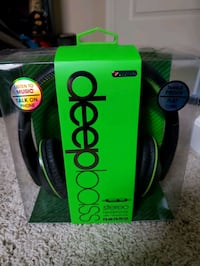 New Deep Bass Headphones Redding, 96002