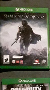Shadow Of Mordor for Xbox One  Acton, L7J 1Z3