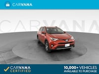 2016 *Toyota* *RAV4* XLE Sport Utility 4D suv Red Brentwood